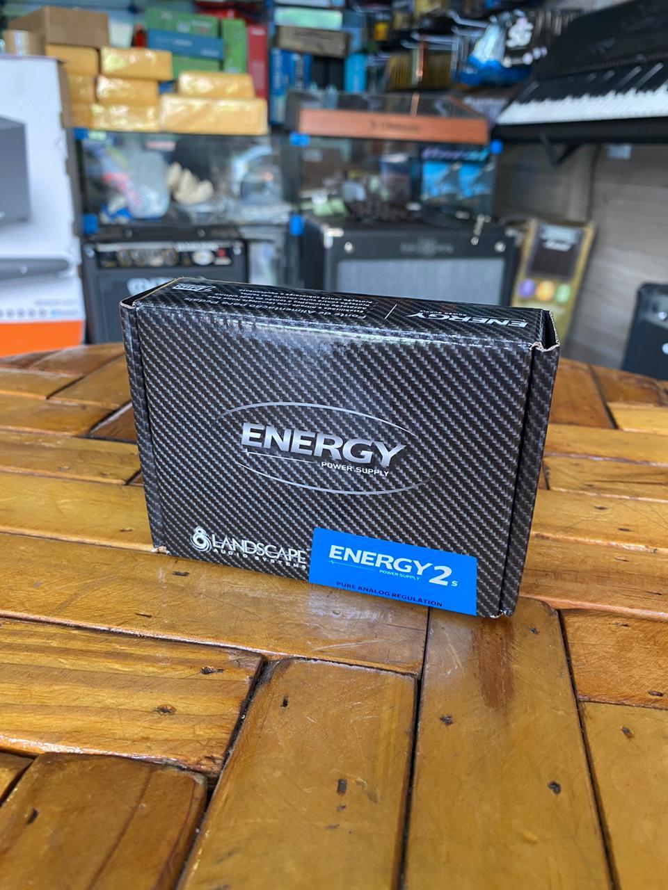 Fonte Landscape Energy 2s para 5 Pedais com Centro Negativo 9Vdc 1000mA