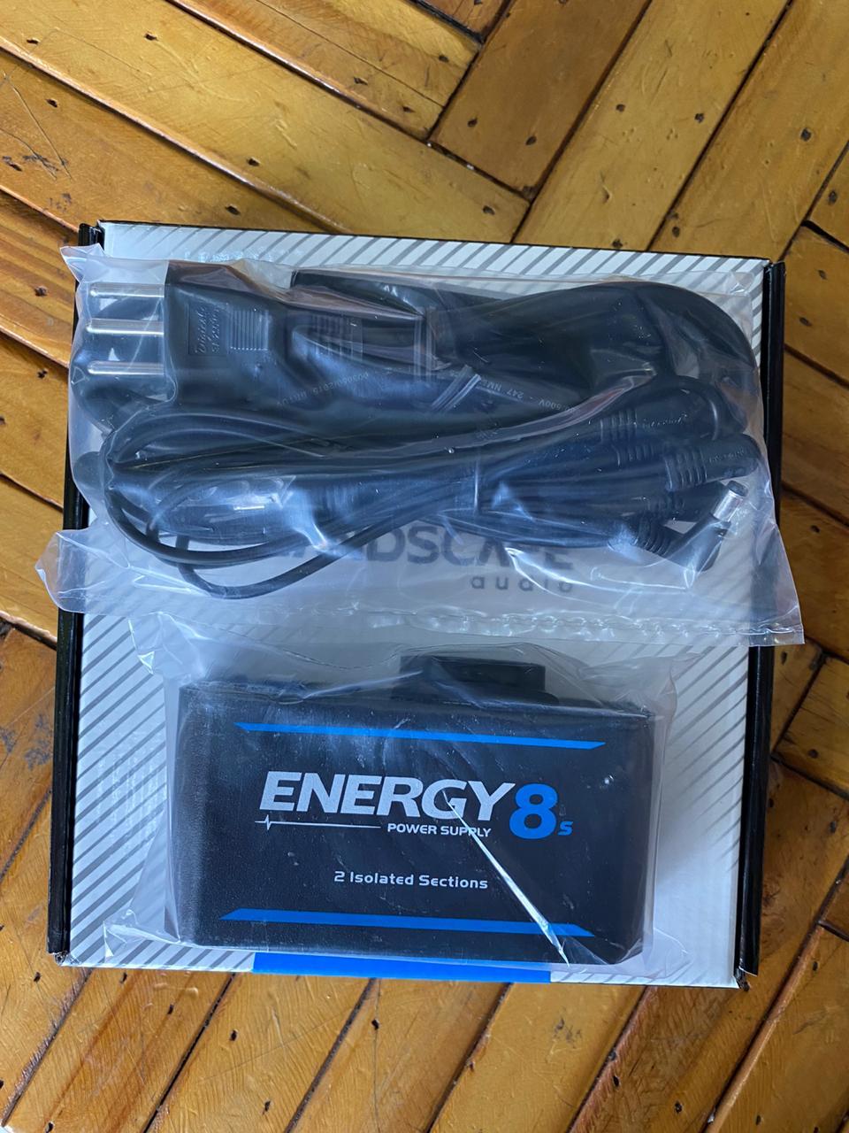 Fonte Landscape Energy 8s para 8 Pedais com Centro Negativo 9Vdc 2000mA