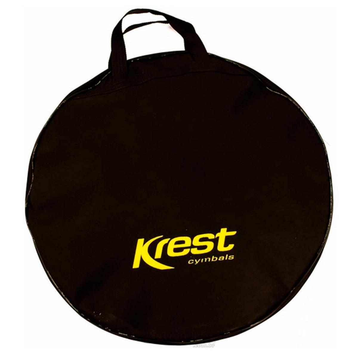 Kit de Pratos Krest TZ Series Com Chimbal 14', Crash 16', Ride 20' Com Bag