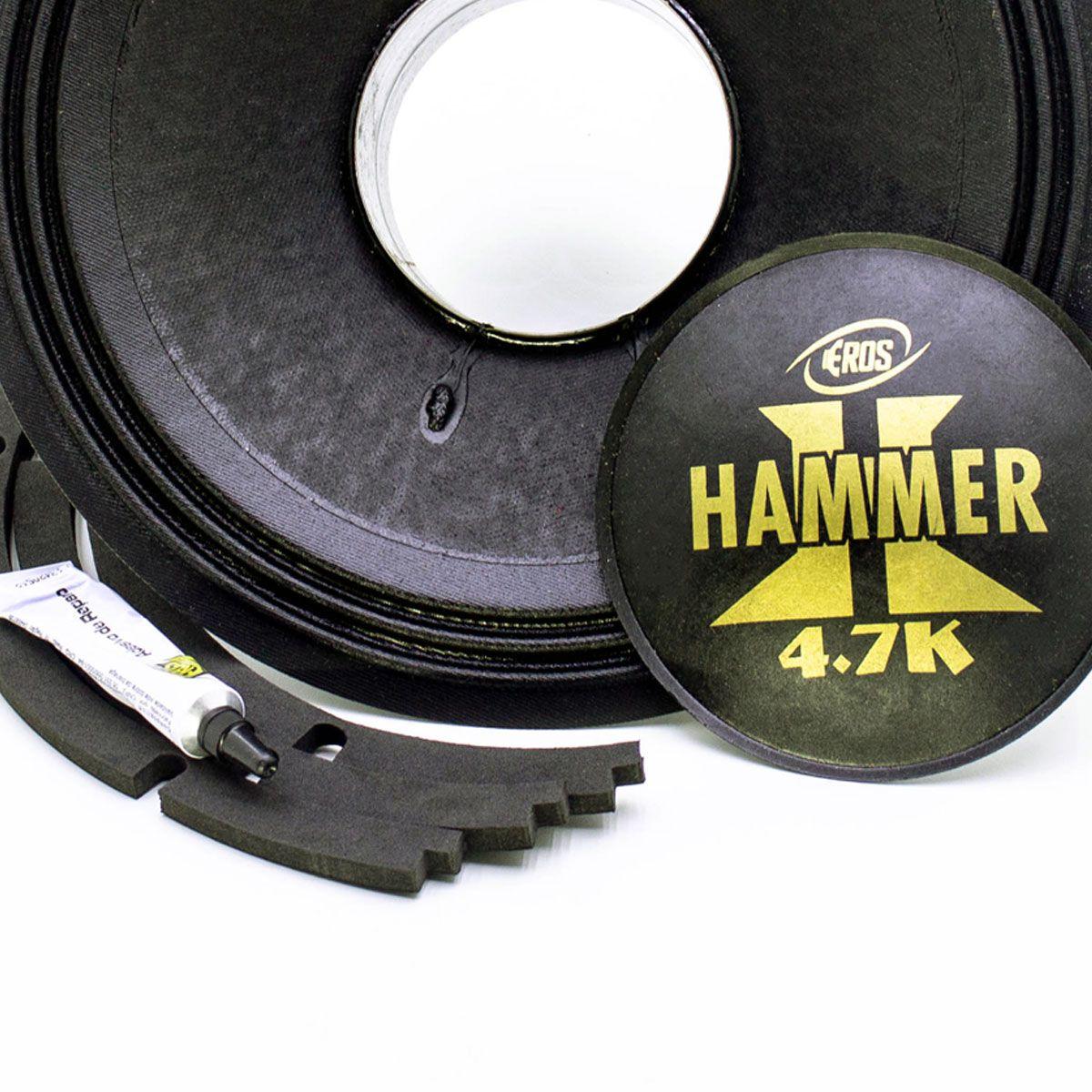 "Kit Reparo para Alto Falante Eros 12"" HAMMER 4.7K 4R 8R"