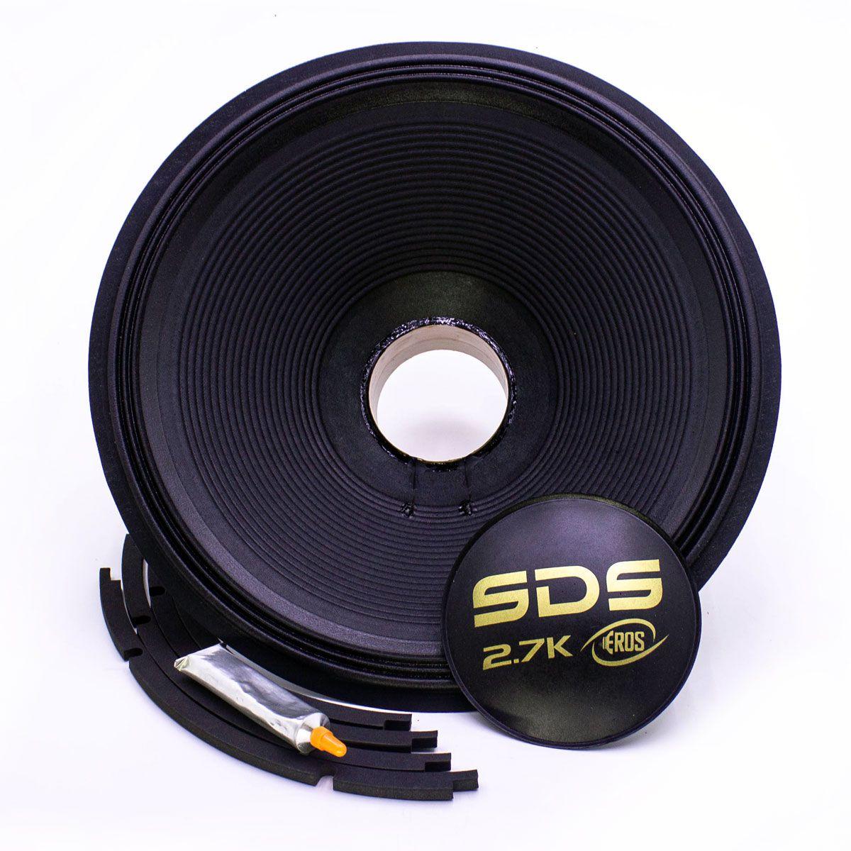 """Kit Reparo para Alto Falante Eros 18"""" E-18 SDS PRO 4R"""