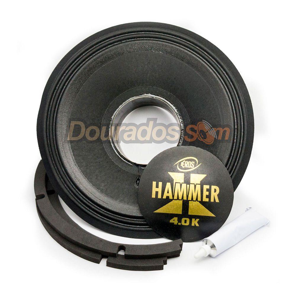Kit Reparo para Alto Falante Eros E-12 Hammer 4.0k 4R 8R