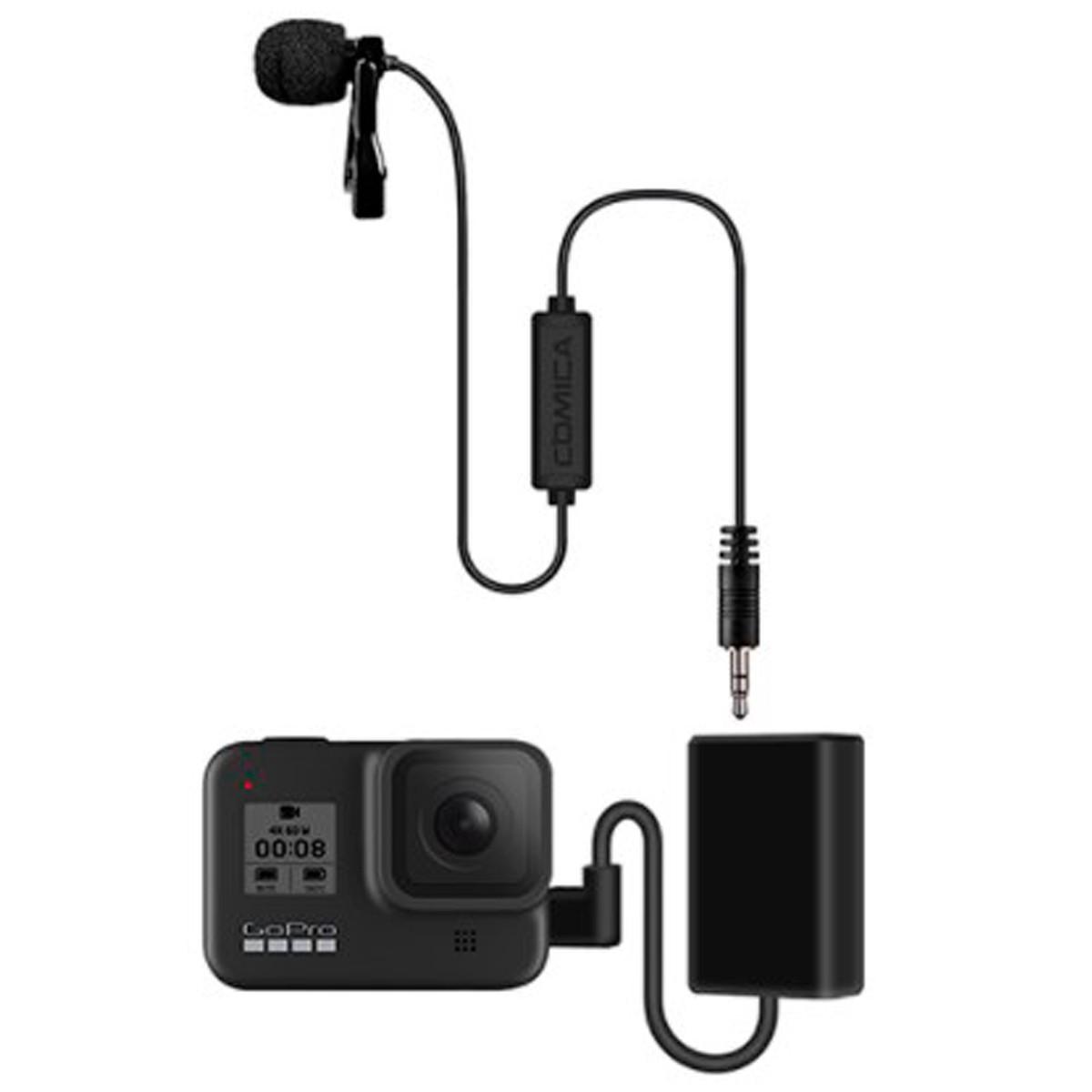 Microfone Lapela Comica Profissional CVM-V01CP P/ GoPro