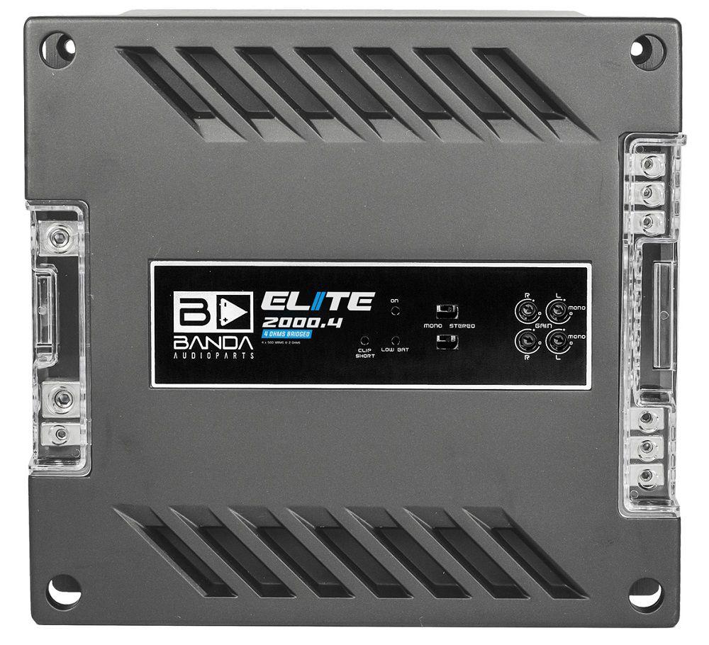 Módulo Amplificador Digital BandaElite 2000.4