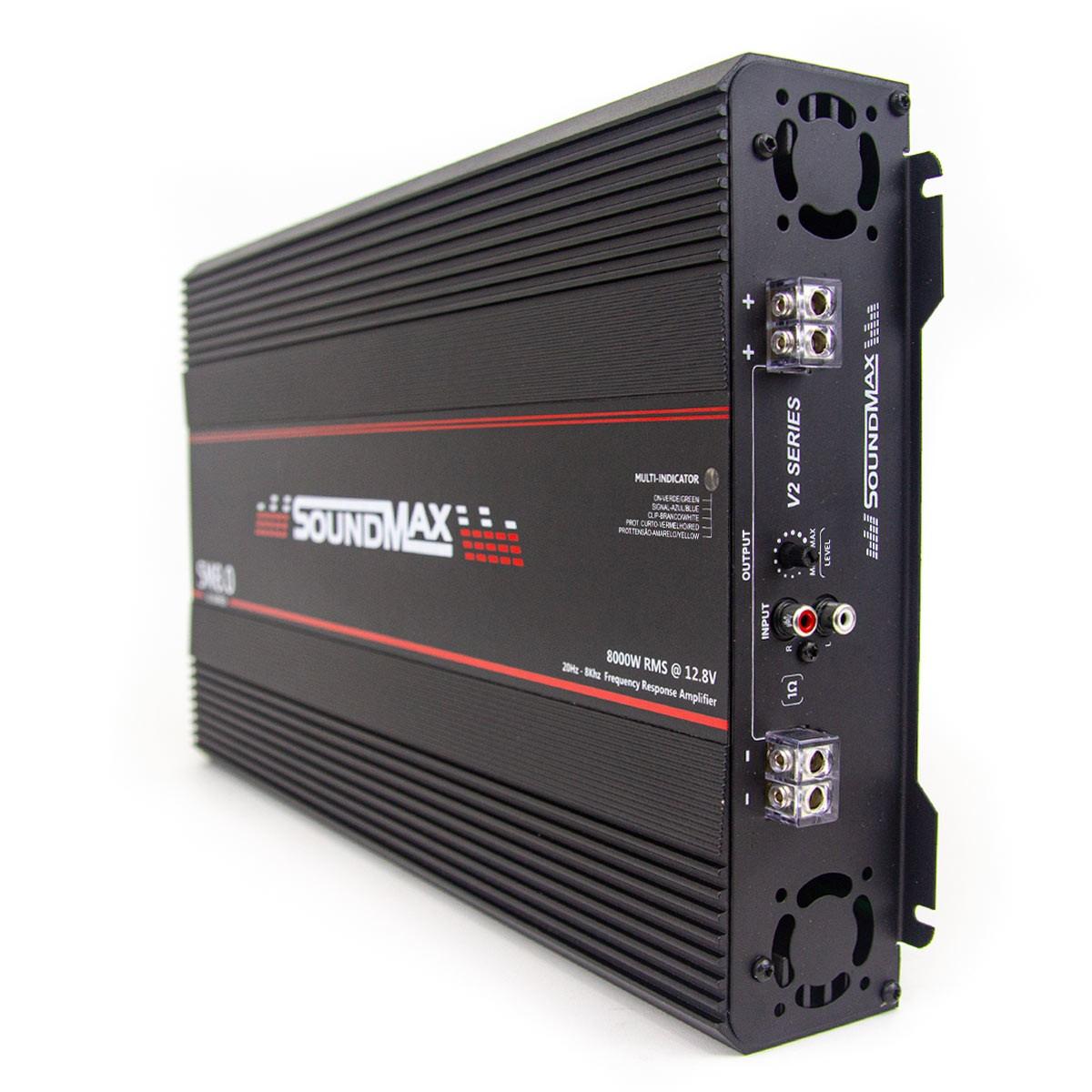 Módulo Amplificador SoundMax V2 SM8.0 12V