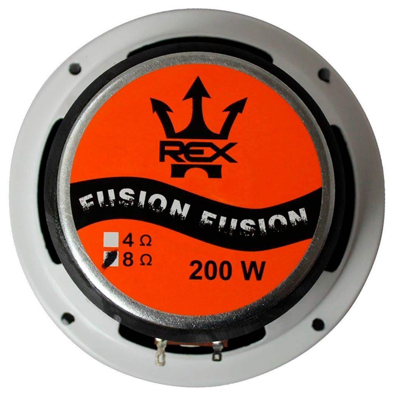 Par Alto Falantes Woofer Rex Fusion 200w Rms 6 Pol 4 Ohms