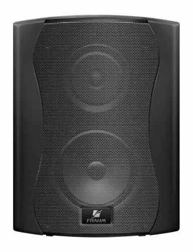 Par Caixa Acústica Frahm Ps5 Plus 50w 5 Pol 8 Ohms Preta