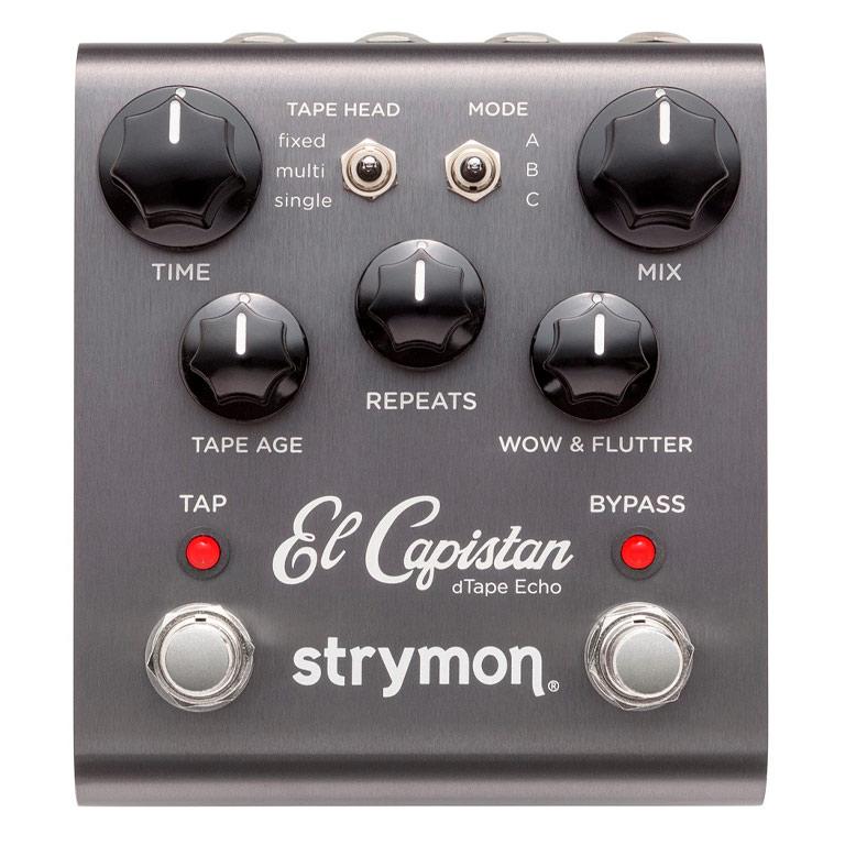 Pedal Delay dTape Echo El Capitan Strymon