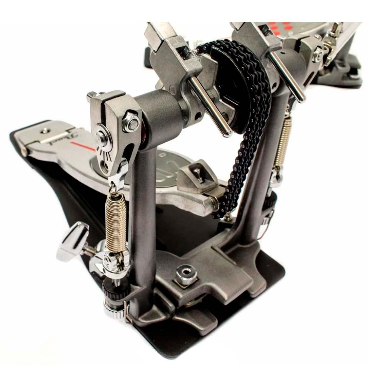 Pedal Duplo Para Bateria Pearl Eliminator Redline P-2052c