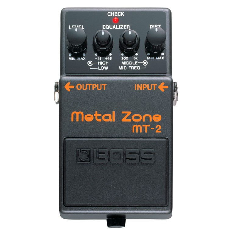 Pedal MT-2 Metal Zone Boss