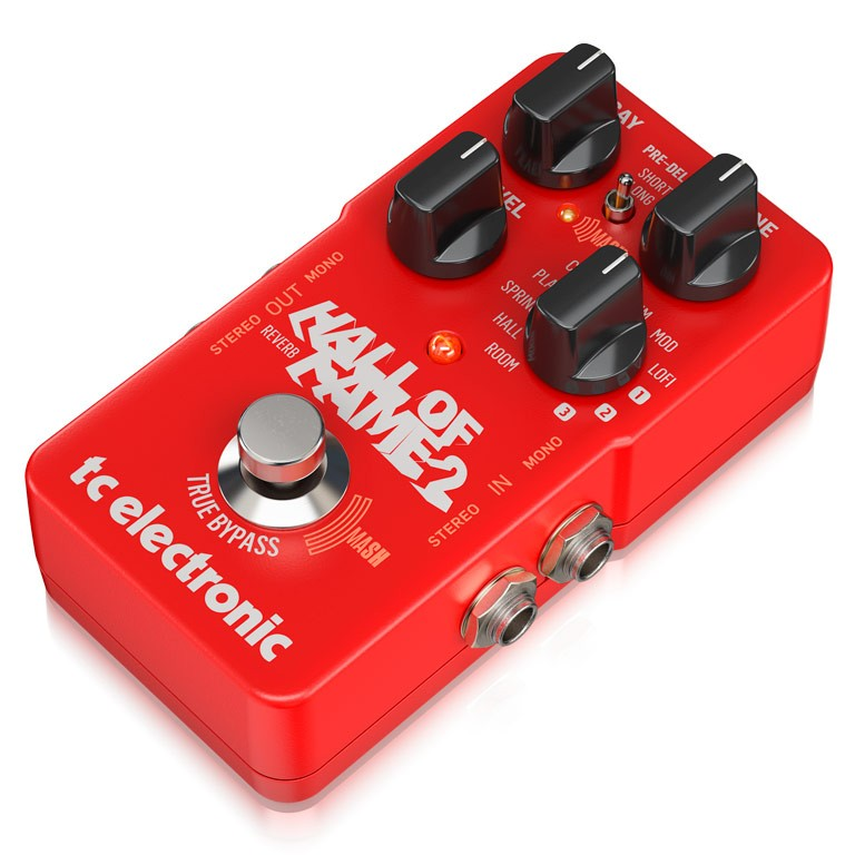 Pedal Reverb Hall Of Fame 2 Tc Electronic