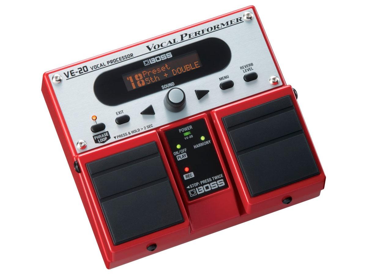 Pedal VE-20 Processador Vocal Boss
