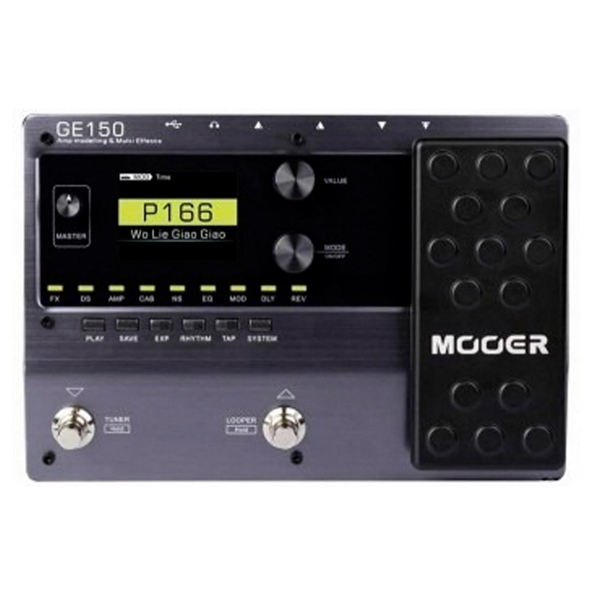 Pedaleira Para Guitarra Mooer GE-150 Multi-Efeitos