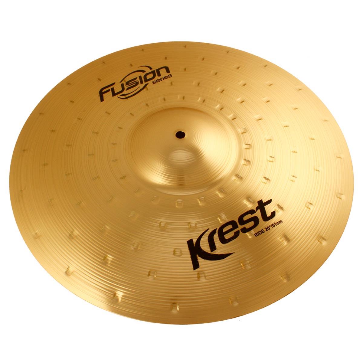 Prato Ride Fusion Series 20' Krest Cymbals (Condução)