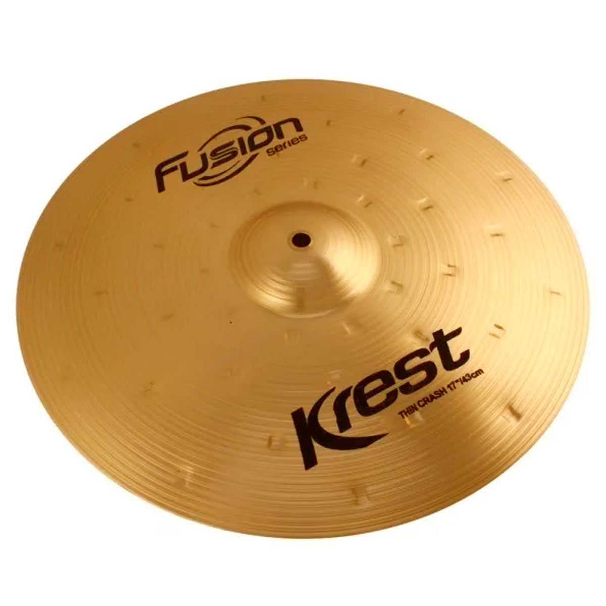 Prato Thin Crash Fusion Series 17' Krest Cymbals (Ataque)