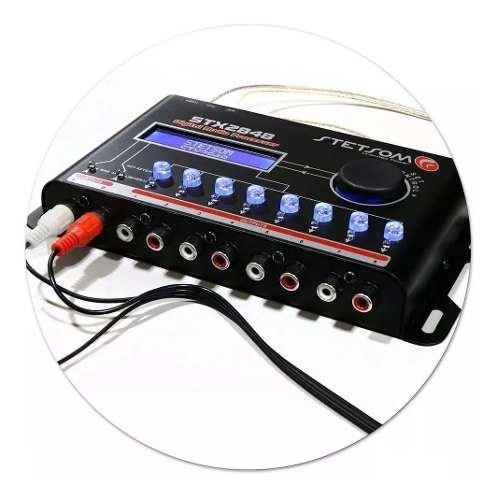 Processador De Audio Digital Stetsom Stx2848 Lançamento