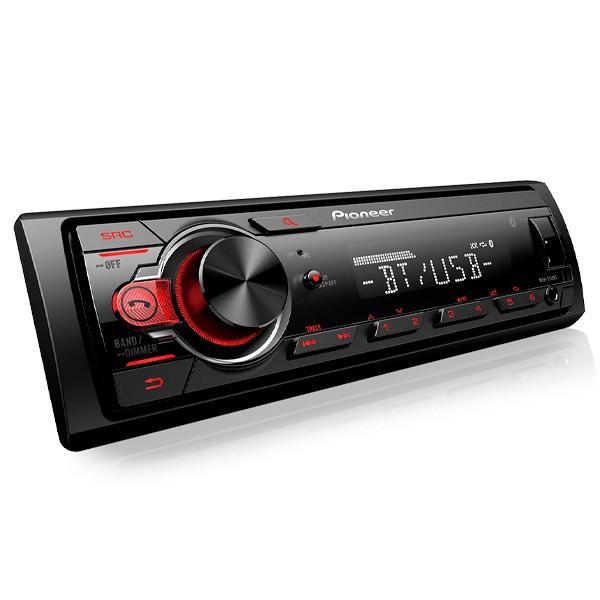Rádio Pioneer MVH-S218BT Com USB e Bluetooth