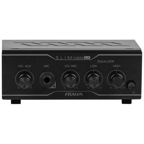 Receiver Amplificador Para Som Ambiente Frahm Slim 1000 La
