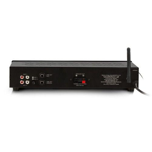 Receiver Amplificador Para Som Ambiente Frahm Slim 2000 App