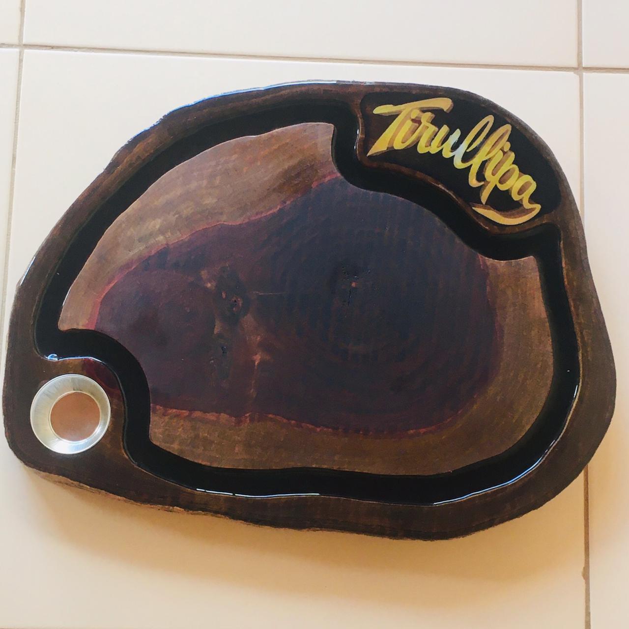Tabua de Cortar Carne Rustica Personalizada Artesanal