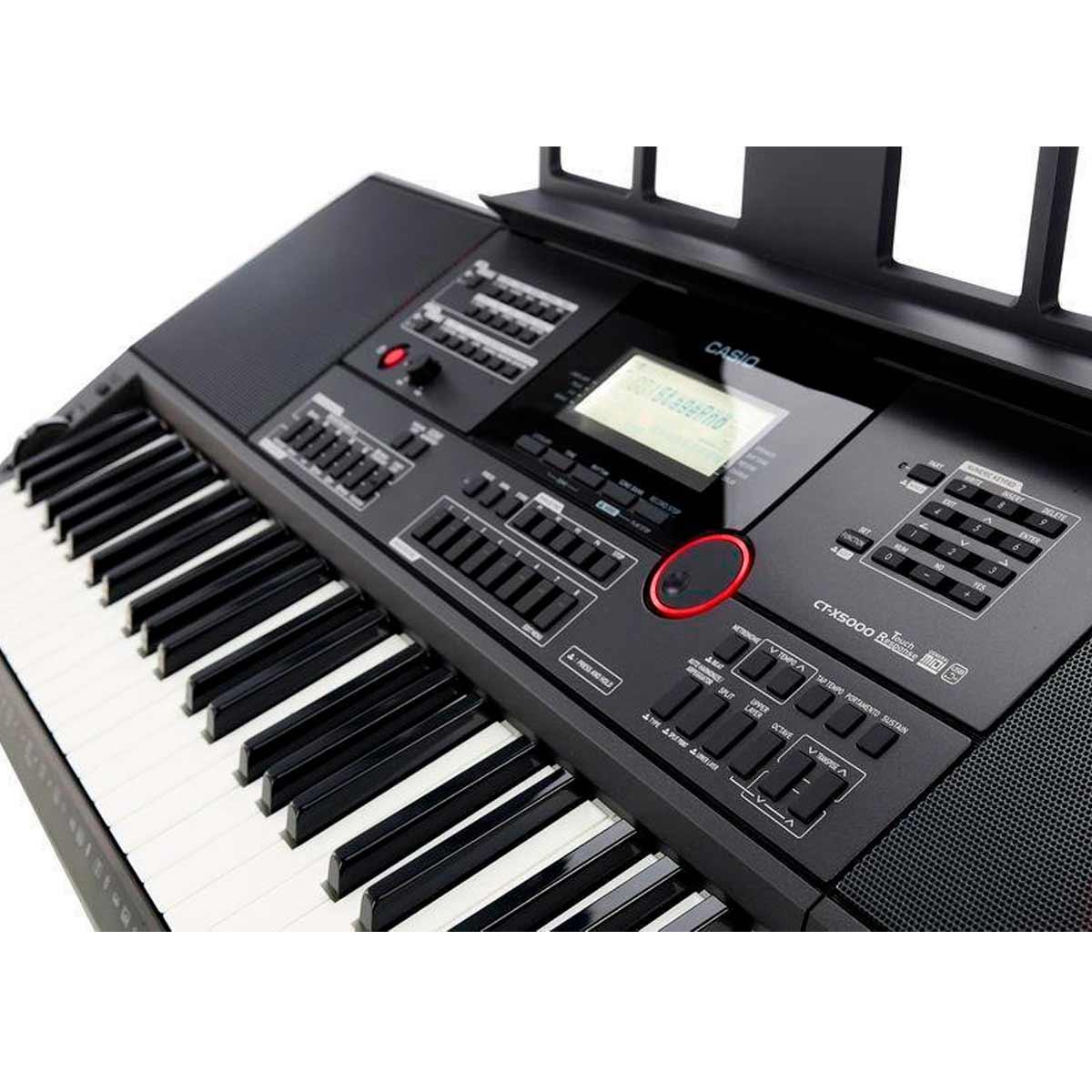 Teclado Digital Casio Arranjador CTX5000 61 Teclas