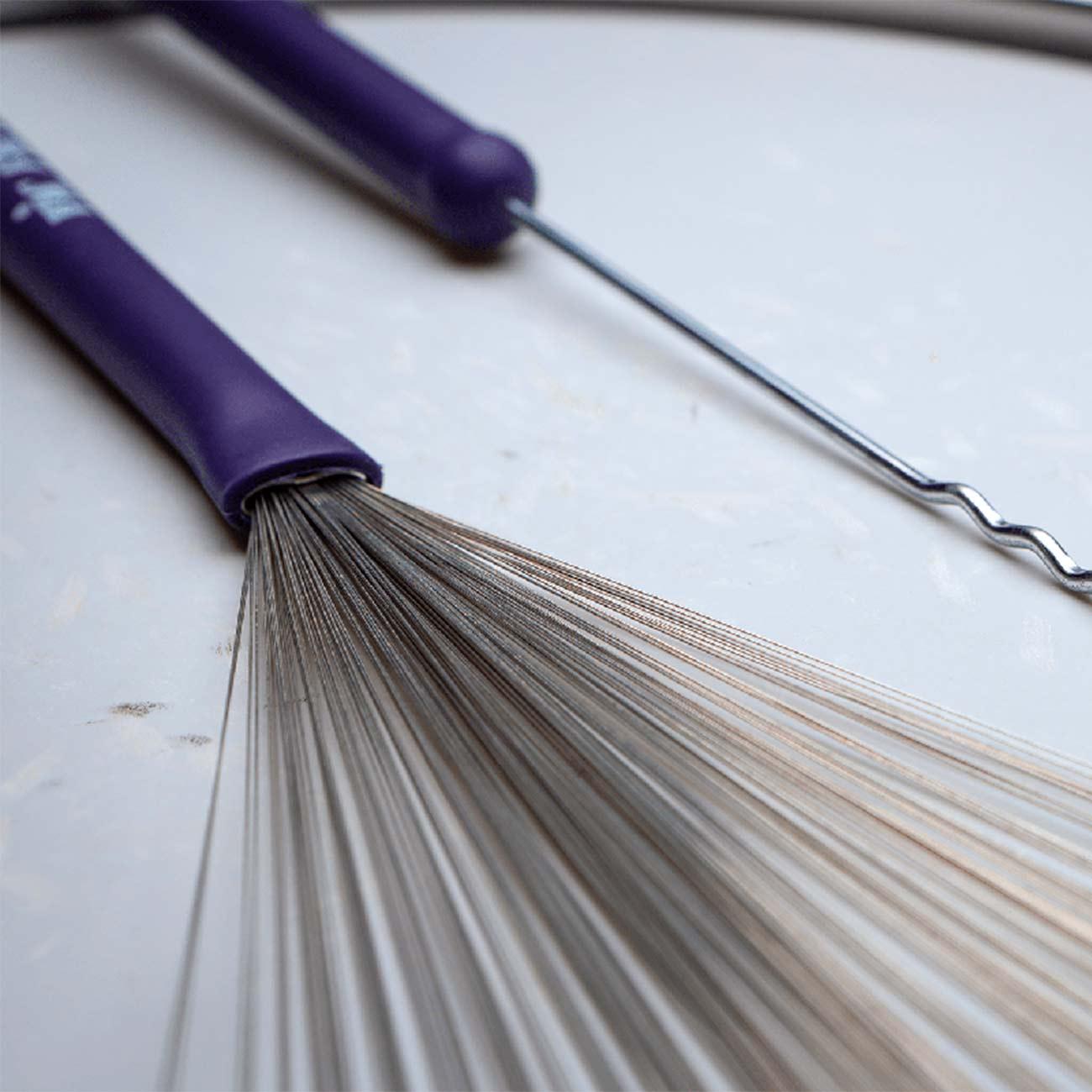Vassourinha Heritage Brush Aço Retrátil Vic Firth