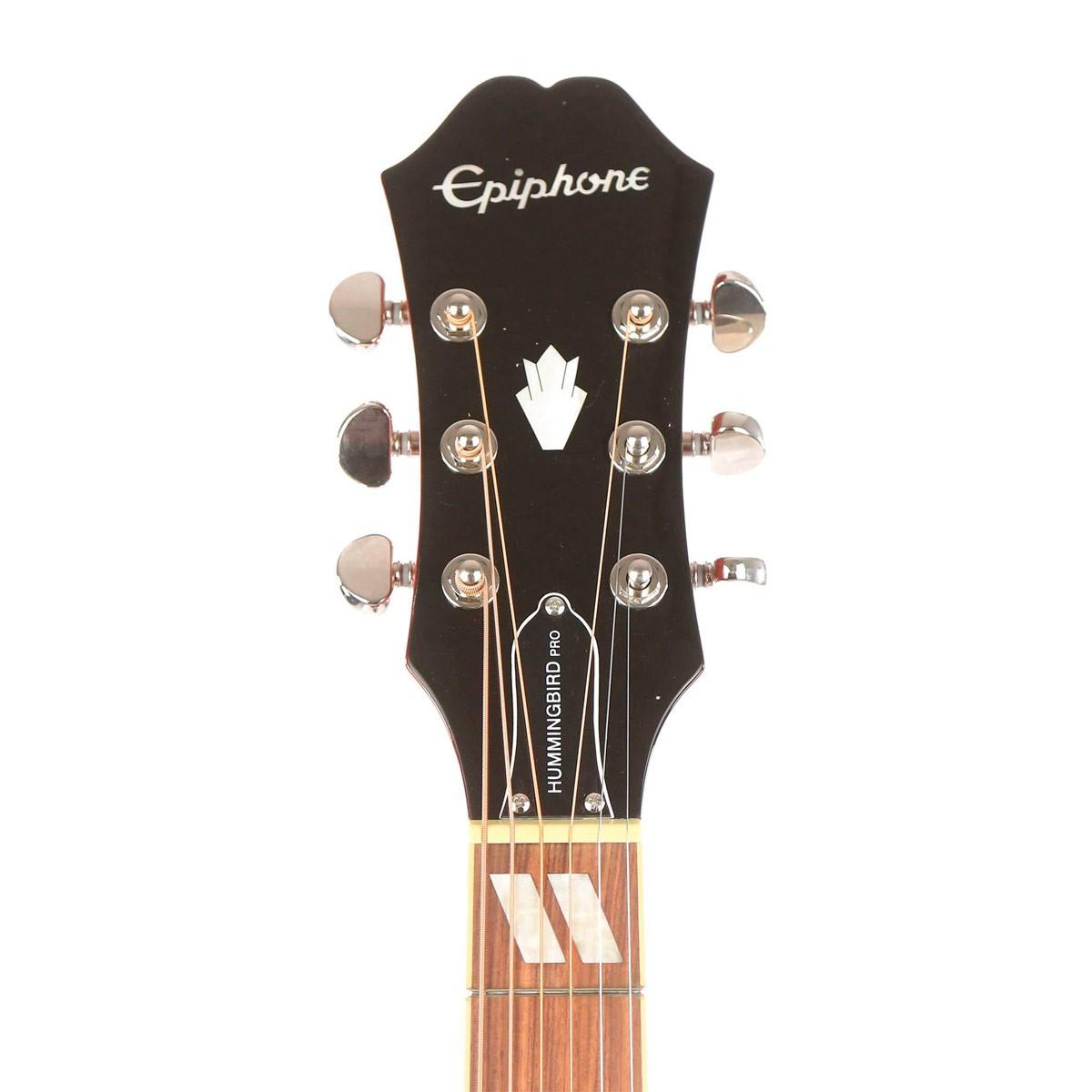 Violão Eletroacústico Aço Epiphone Hummingbird Pro - Faded Cherry