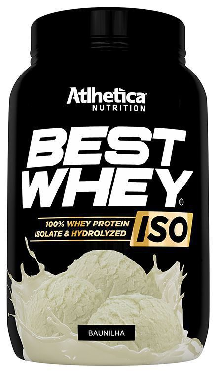 Best Whey Iso 900g- Atlhetica Nutrition