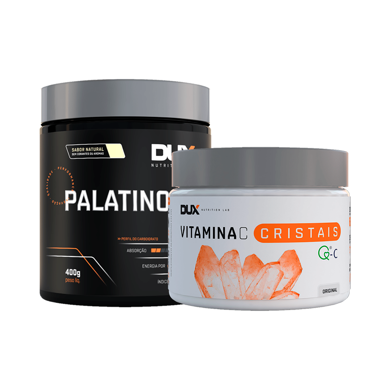 Palatinose 400g + Vitamina C 200g - Dux Nutrition