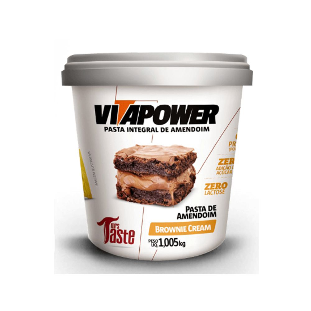 Pastas de Amendoim - Vitapower