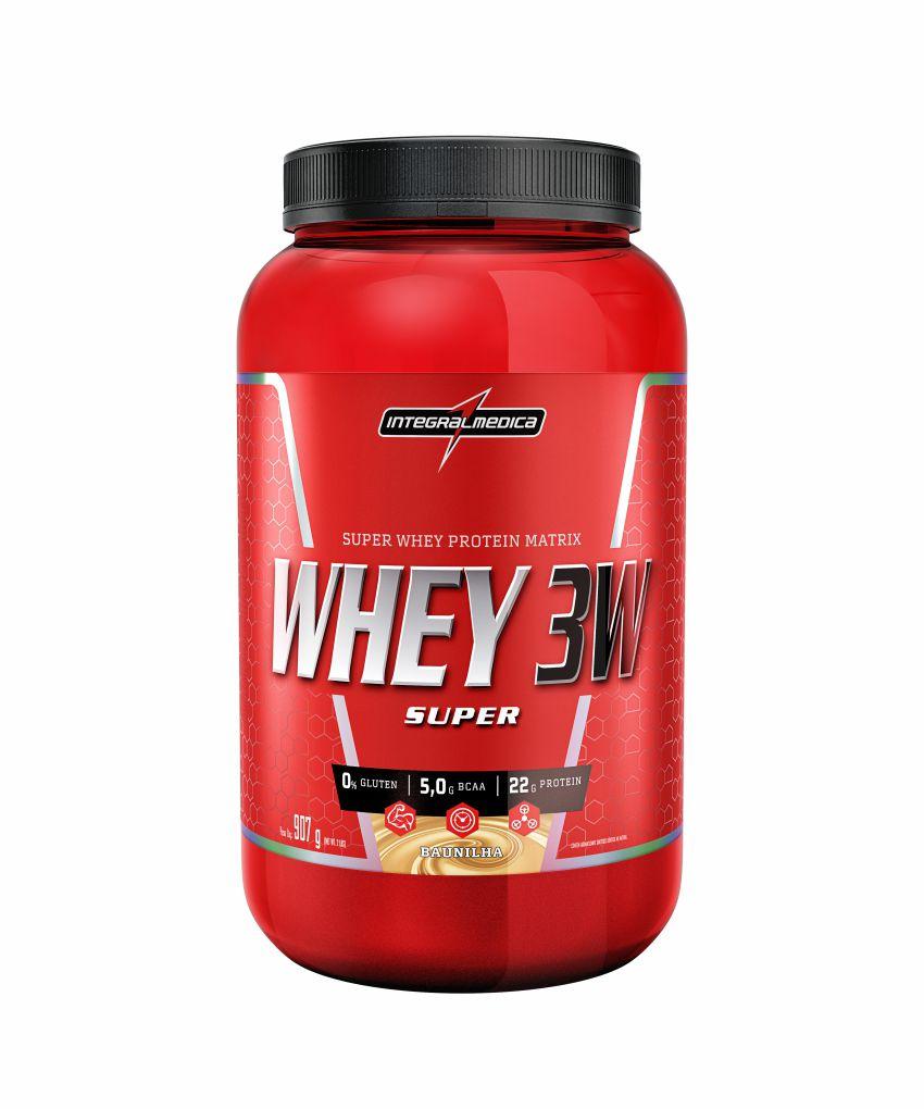 Whey Protein 3W Integralmédica 900g