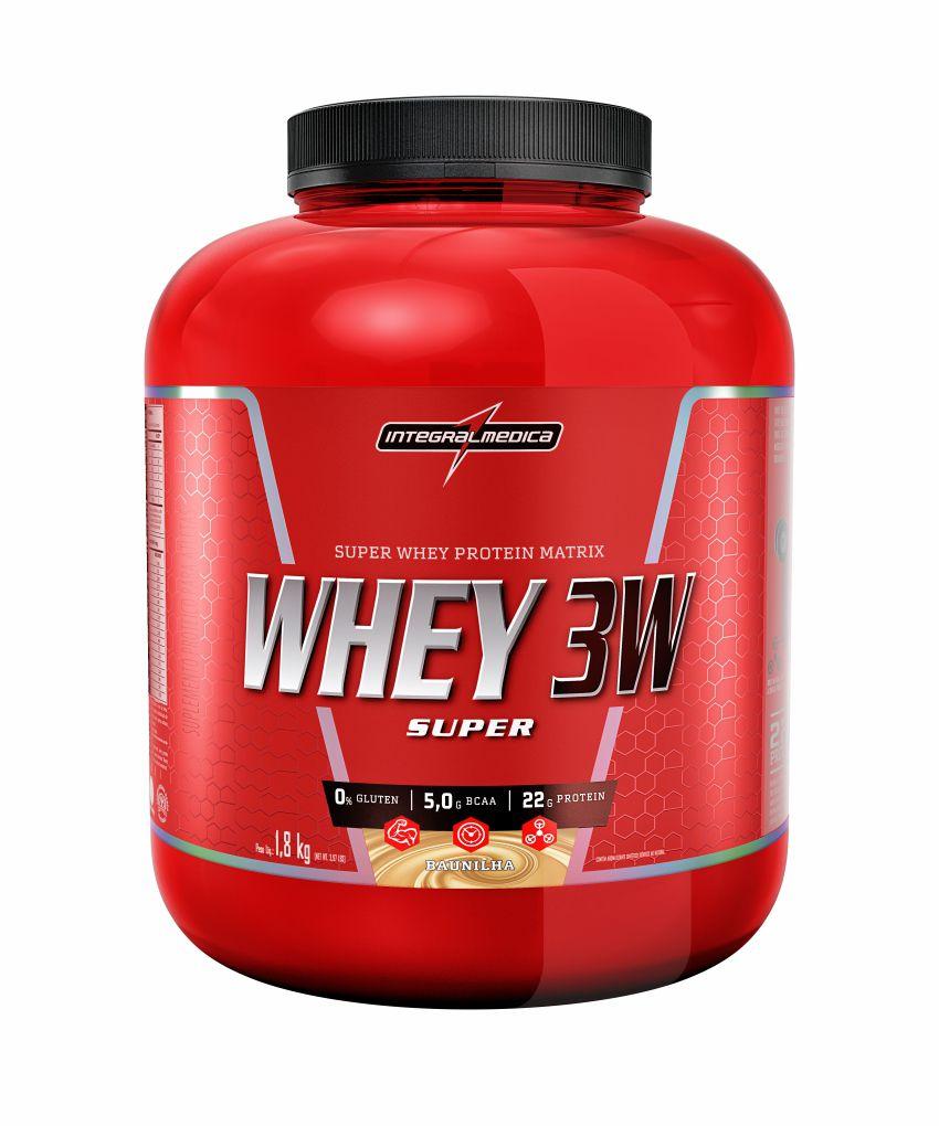 Whey 3W Super 1,8kg - Integralmédica