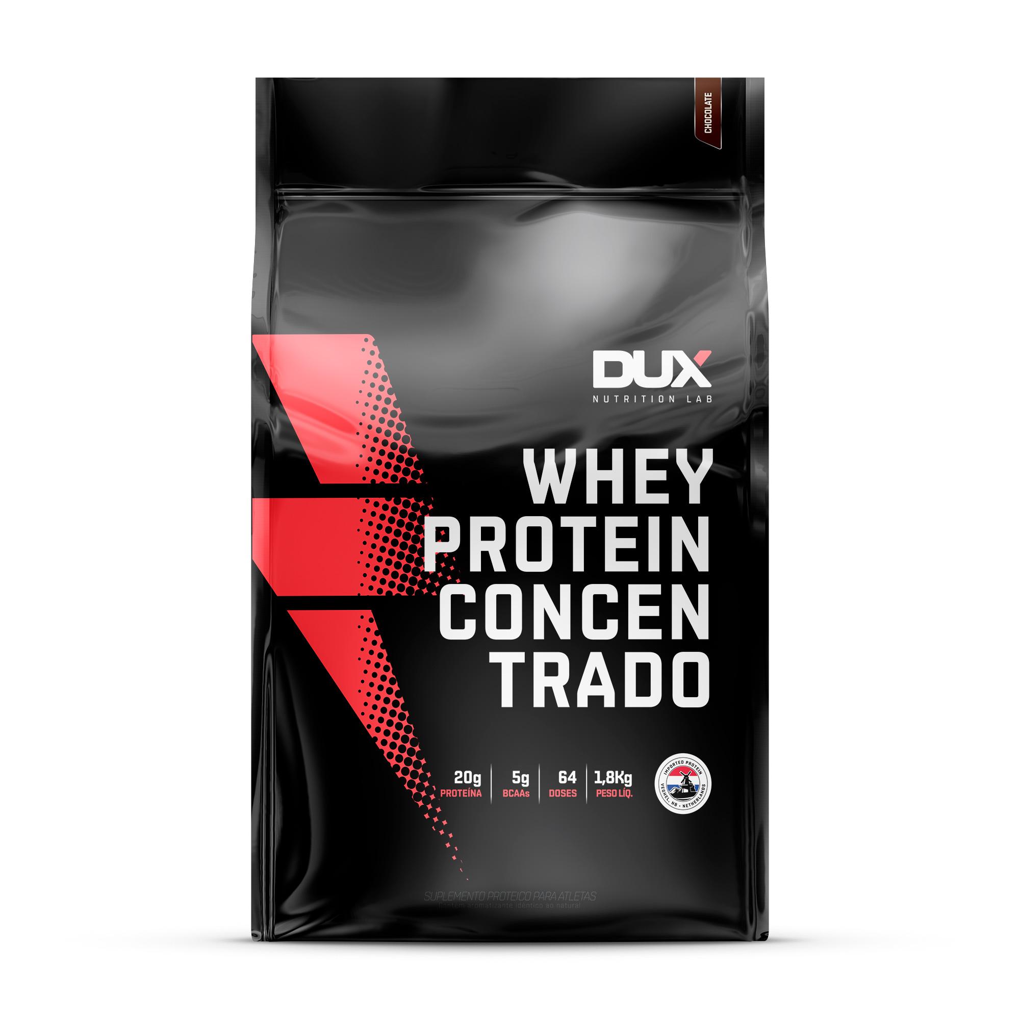 Whey Protein Concentrado 1,8kg Refil - Dux Nutrition