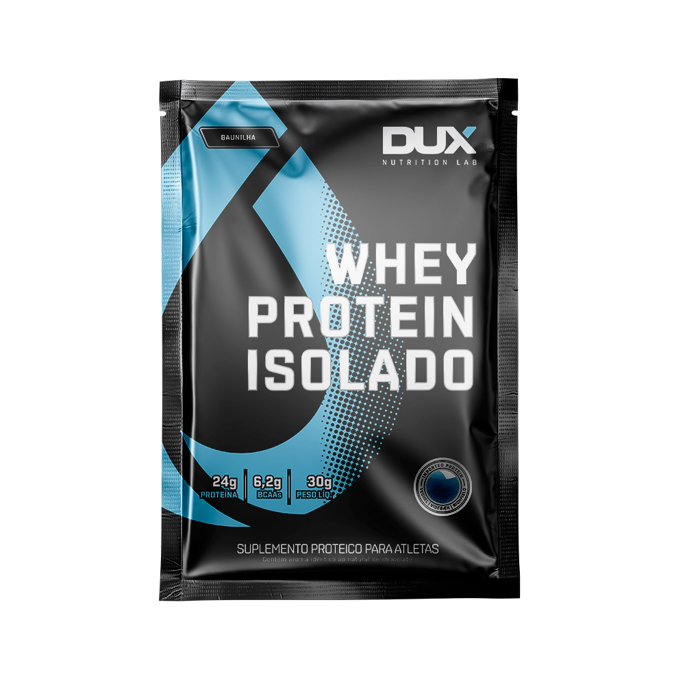 Whey Protein Isolado Dose Unica (27g) - Dux Nutrition