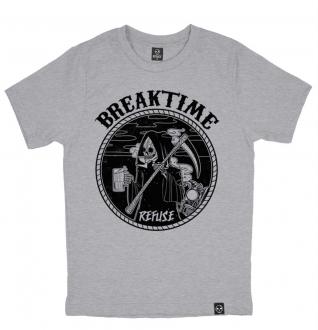 Camiseta Breaktime Cinza