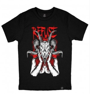 Camiseta Goat Girl Preta