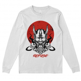 Camiseta Manga Longa Hannya Mask