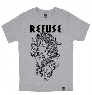 Camiseta Medusa Cinza