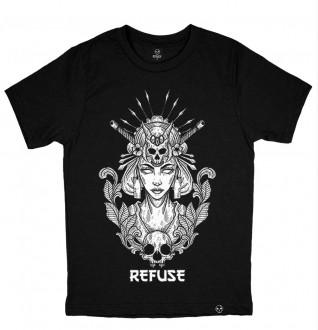 Camiseta Princess Skull Preta