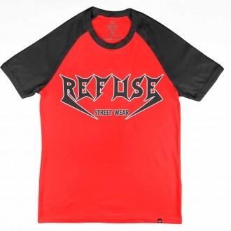 Camiseta Raglan Refuse 06 - Thrash