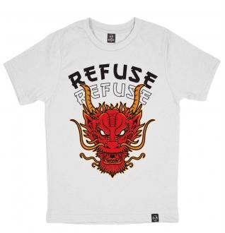 Camiseta Red Dragon Branca