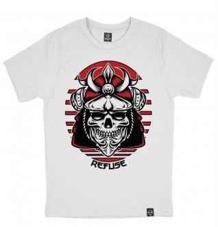 Camiseta Samurai Skull