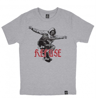Camiseta Skate Marginal Cinza