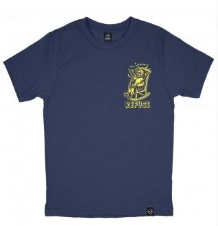 Camiseta Stay Chill - Azul Escura