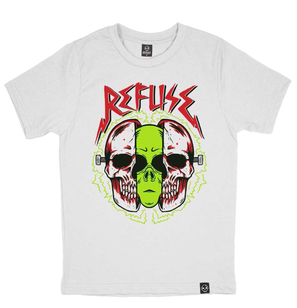 Camiseta Alien Noise Branca
