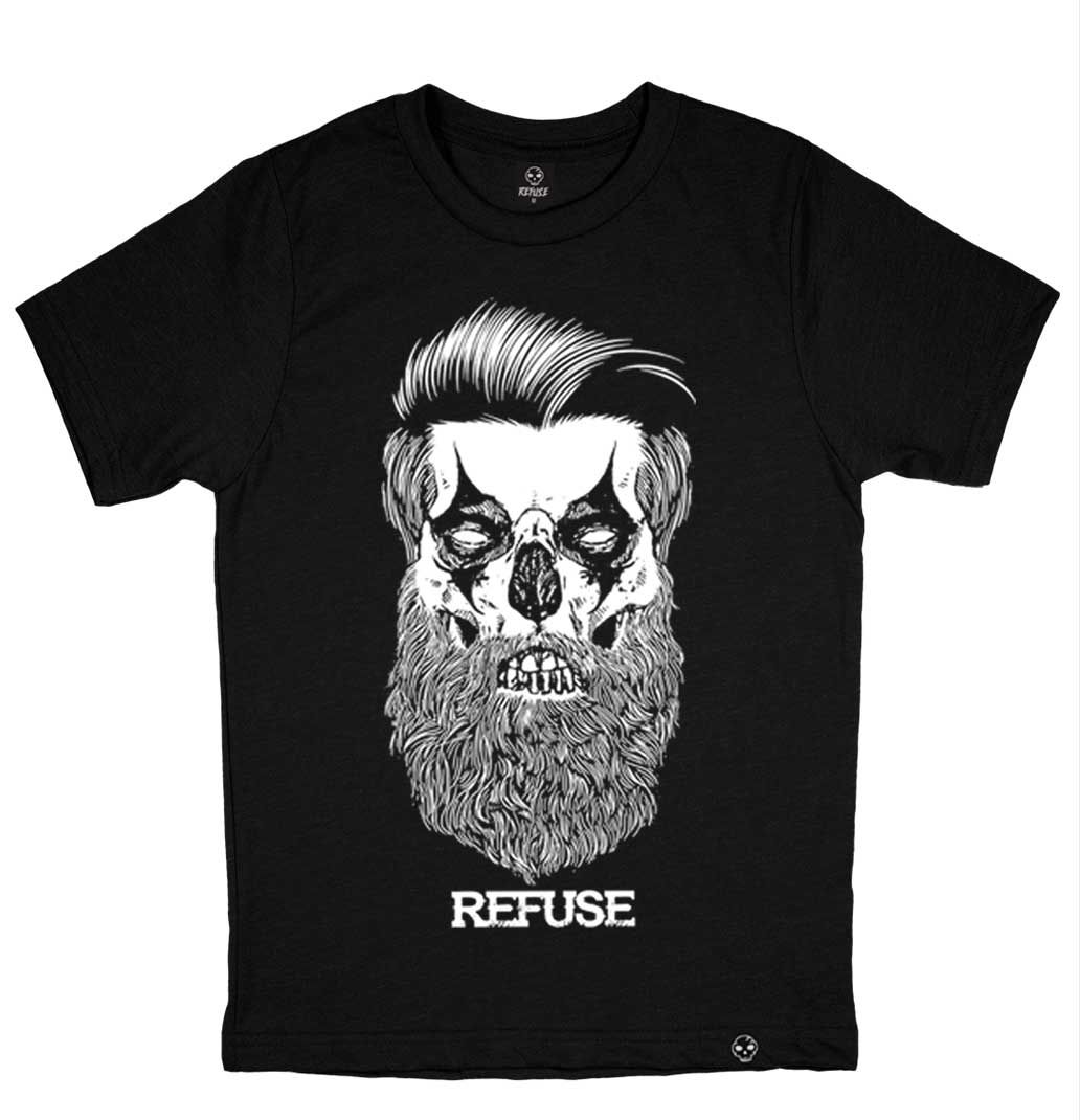 Camiseta Beard Clown