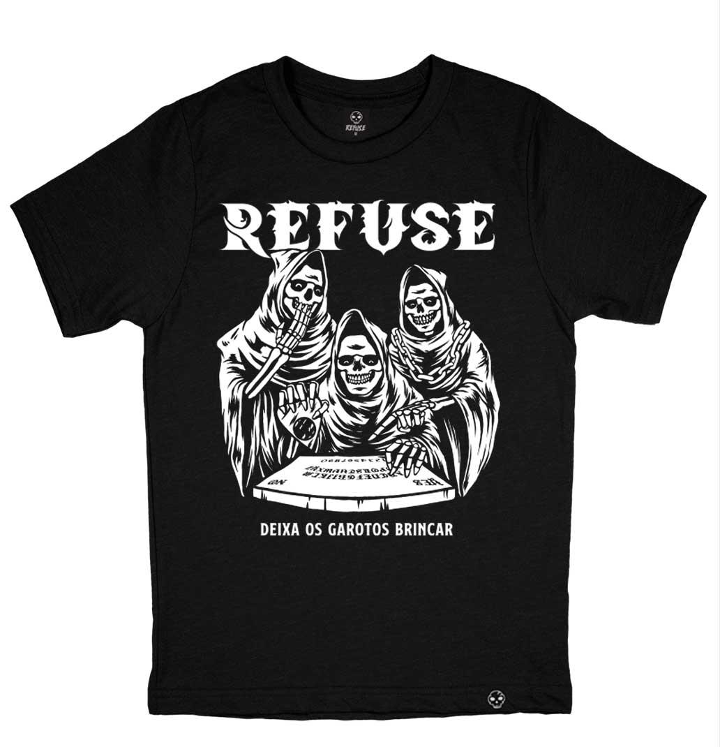 Camiseta Deixa os Garotos Preta