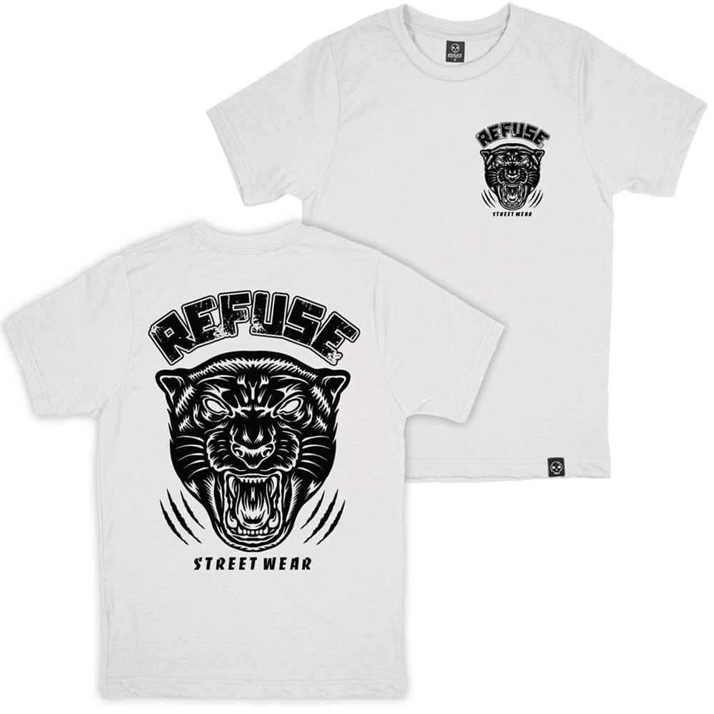Camiseta Fighting Panther Branca