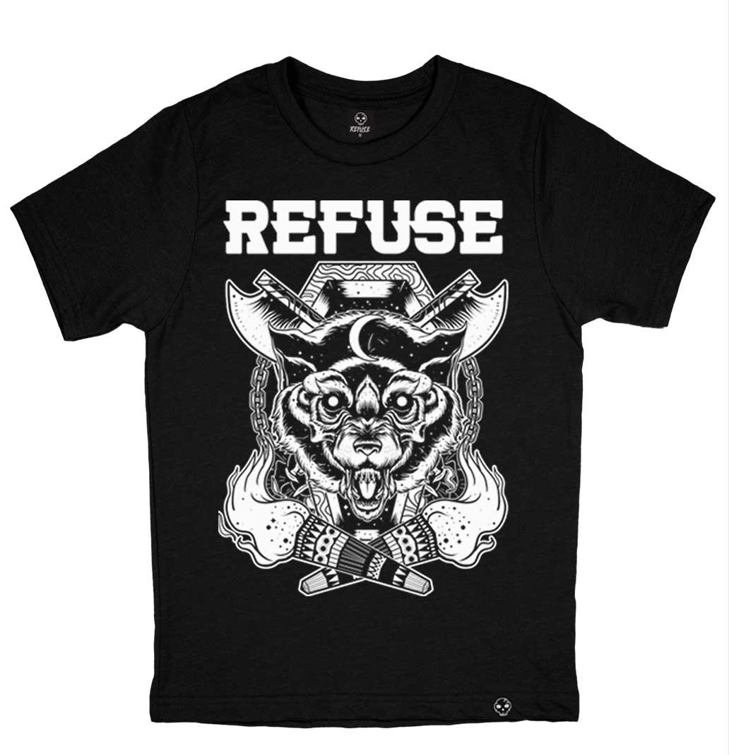 Camiseta Intense Wolf