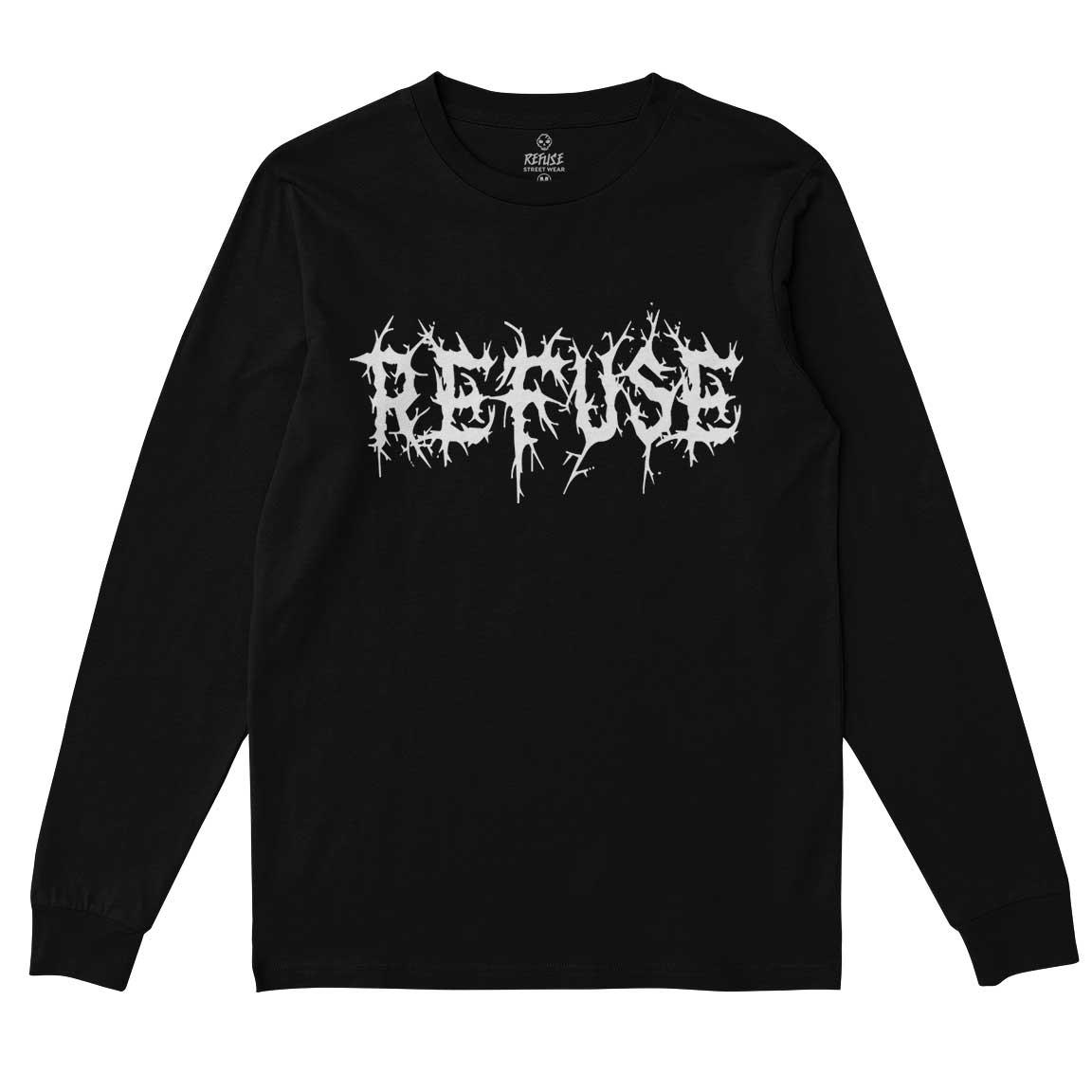 Camiseta Manga Longa Refuse Dark